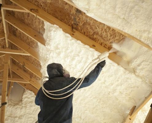 Texas Insulation Spray Foam