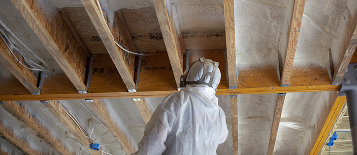 Subfloor Insulation Closed Cell Spray Foam
