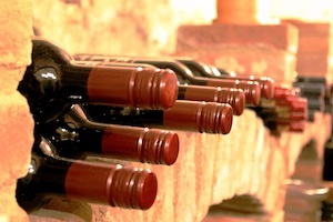 spray foam wine cellar