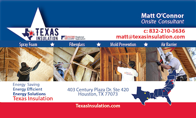Matt O'Connor Texas Insulation